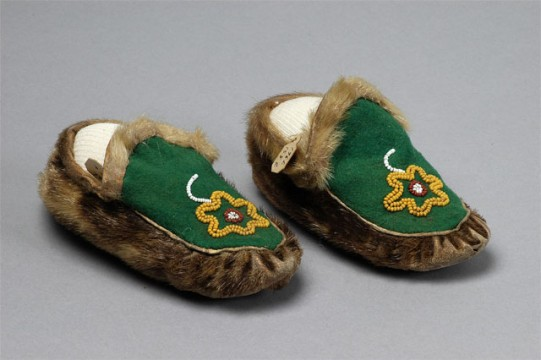 Inuit Child's Moccasins