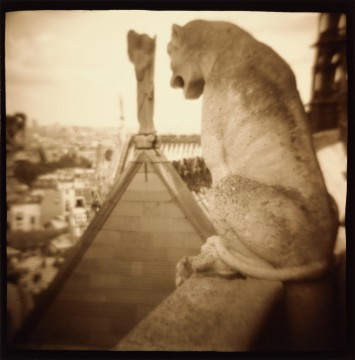 Mythical creature, Notre Dame Cathedral, Paris, 1994