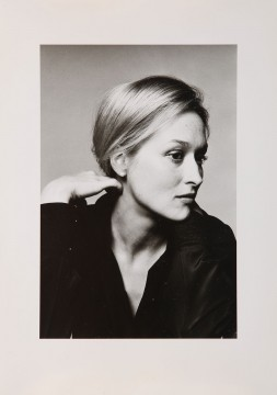 Meryl Streep, portrait, New York, 1977