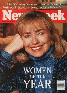 Hillary Clinton, Newsweek, December 28, 1992