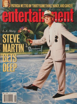 Steve Martin, Entertainment Weekly, February 21, 1991.Theo Westenberger Archives, 1974–2008. Autry Museum; MSA.25.228