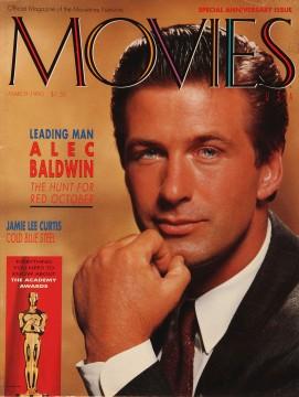 Alec Baldwin, Movies Special Issue, March 1990