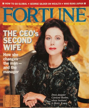 Carolyne Roehm, Fortune, August 28, 1989