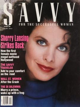 Sherry Lansing, Savvy, October 1988