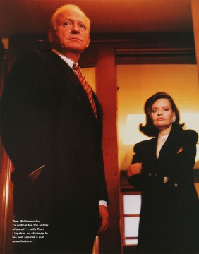 Attorney and client, Worth, April 1995.