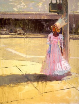 William Wray, Princess of Van Nuys, oil, 36 in. x 24 in.