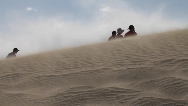 Film still of Death Valley from California Roadtrip