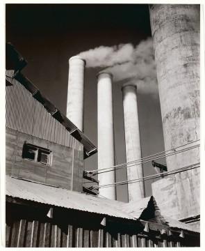 Willard Van Dyke, Cement Factory, Monument, CA