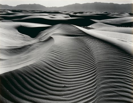 Brett Weston, Untitled, Dunes, White Sands, New Mexico