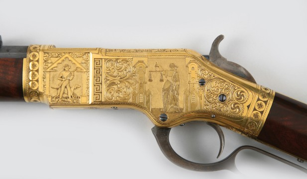 Gold-plated Winchester
