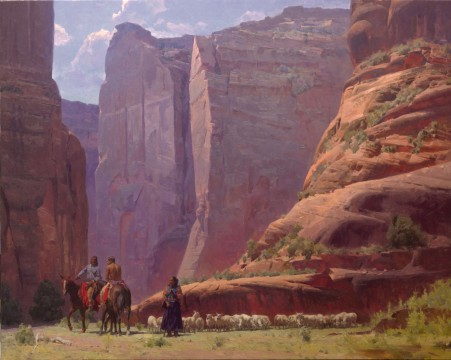 Trail of Life at Canyon De Chelly