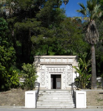 Southwest Museum tunnel entrance