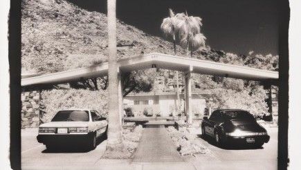 Carport, Palm Springs, California, 1990. Theo Westenberger Archives