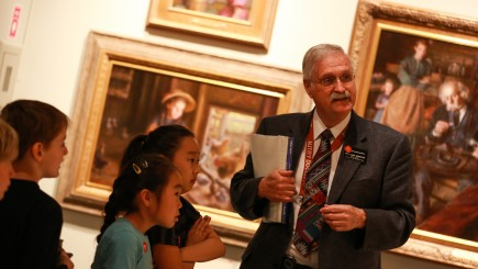 Docent-Guided Early Opportunities Program