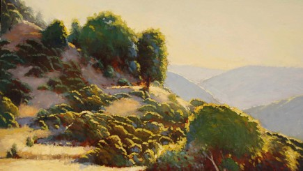 Douglas Morgan, California Gold, Oil on canvas, 18 in. x 24 in.