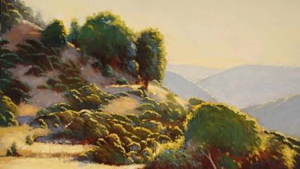 Douglas Morgan, California Gold, oil-on-canvas, 18 in. x 24 in.