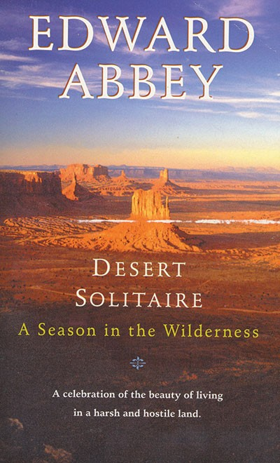Desert Solitaire Cover, Ballantine Books