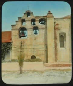 Adam Clark Vroman, The Belfry of Mission San Gabriel, circa 1895
